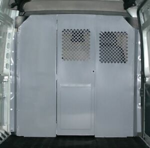 Heavy duty Steel Partition For The Dodge Ram Promaster By American Van