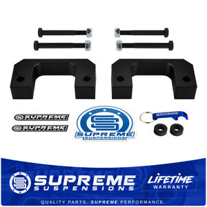 For 07 20 Chevy Gmc Silverado Sierra 2 Front Billet Bottom Strut Level Lift Kit