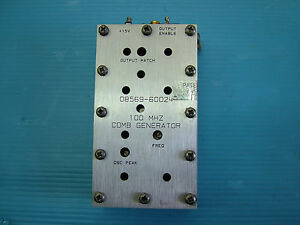 Comb Generator Rf Hp 08569 60024 For 8593e 8569b Fully Tested Sale
