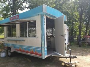 Never Used 2019 7 X 14 Food Concession Trailer In Great Condition For Sale In