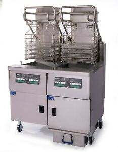 Pitco Solstice Supreme Rov Fryer System With Automatic Filter And Lift Assist