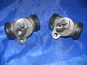 2 Front Brake Wheel Cylinders 1957 1960 Cadillac New Pair 57 58 59 60