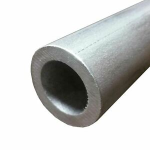 304 Stainless Steel Round Tube 2 1 2 Od X 0 375 Wall X 12 Long Seamless