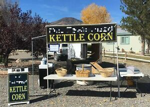 Well kept Turnkey 2006 8 X 12 Popcorn Concession Stand Kettle Corn Business