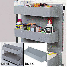 Steel Open 3 Tray Unit For Ford Transit Work Van By American Van Equipment