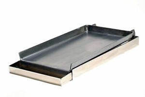 New Rocky Mountain Cookware Mc12 8 2 burner Commercial Add On Griddle