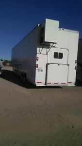2007 8 X 38 Alum line Food Catering Trailer With A Professional Kitchen For Sa