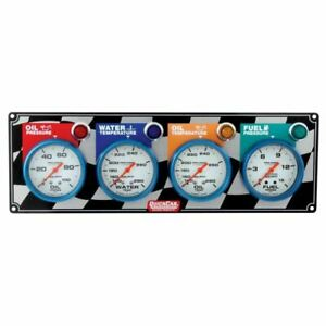Quickcar Racing Products 61 0631 4 gauge Panel Kit With Auto Meter Ultra nite