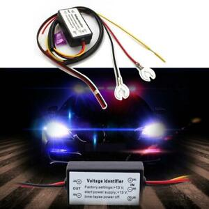 Car Automatic Led Daytime Running Light Relay Drl Controls On Off Voltage 12 18v