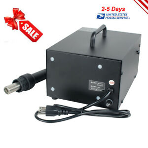 Professional 2in1 Soldering Hot Air Gun Rework Station Welding Solder Machine