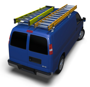 Aluminum Base Ladder Rack Ford E Series By American Van