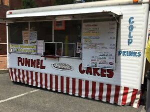8 X 14 Funnel Cake And Lemonade Food Concession Trailer For Sale In West Virgi