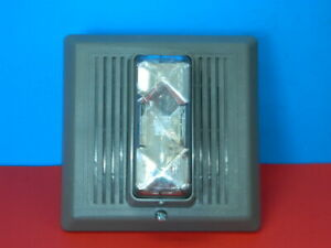 Edwards 868strc aq Outdoor Horn strobe Fire Alarm