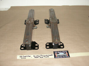 Oem 66 Cadillac Limo Commercial Chassis 2 way Front Bench Power Seat Tracks