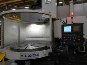 Mighty Viper 20 24m Cnc Vertical Boring Mill 3467