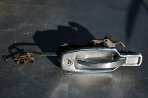 Triumph Spitfire 1500 Chrome Outside Right Exterior Door Handle Working No Key