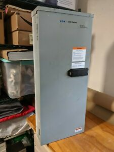 Eaton Cutler Hammer Chgen200atsrse Automatic Transfer Switch Enclosure Only