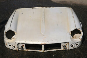 Triumph Spitfire Early Bonnet Hood Nose White 20191114c