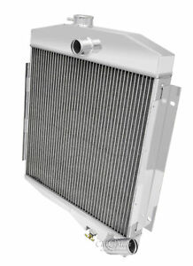 1965 1971 Jeep Cj5 Radiator Champion All Aluminum Base 225ci Buick Motor V6