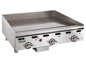 Vulcan Msa36 36 Gas Griddle W Thermostatic Controls 1 Steel Plate Natural
