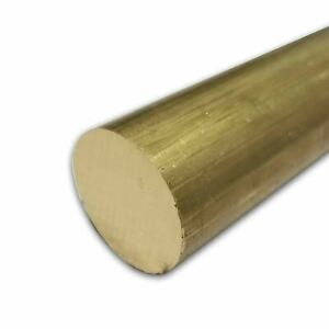 C360 Brass Round Rod 0 500 1 2 Inch X 48 Inches