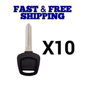 10pc New Replacement Key For Nissan Infinity Vehicles Ni02 Transponder Chip 4d60
