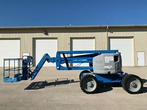 2012 Genie Z 45 25j Rt Aerial Manlift Boom Lift Deutz Diesel Man Basket Genie