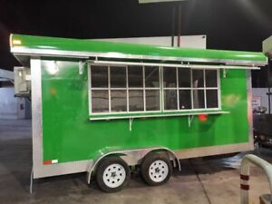New 2019 8 X 16 Food Concession Trailer Mobile Kitchen Unit For Sale In New