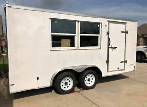 Very Clean And Never Used 8 X 16 Concession Trailer For General Use For Sale I