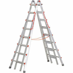 Aluminum Skyscraper Telescoping Type A1 Model Xzm 17 Little Giant Ladder