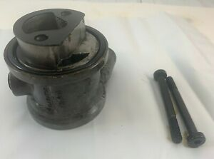 Original Chevy S10 4 3 Oil Filter To Cooler Line Adapter Factory Chevrolet Oem