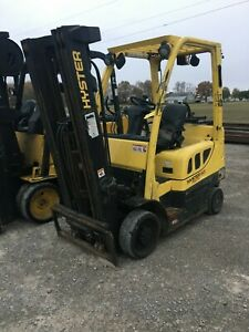 2015 Hyster 5 000 Lb Capacity Forklift Lp Model S50ft