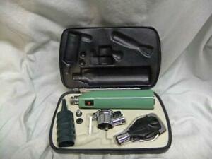 Welch Allyn Diagnostic Set Ophthalmoscope Pneumatic Otoscope Handle