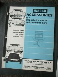 1976 Sev Marchal Accessories Lamps Horns Coils Lamp Covers 8 Page Catalog