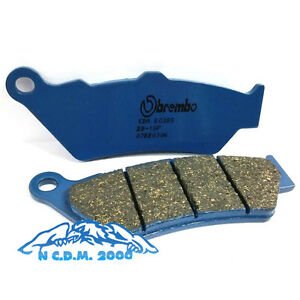 Rear Brake Pads Brembo Carbon Blue Bmw R 1200 Gs Adventure Abs 2015