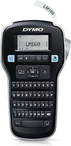 Dymo 160 Portable Label Maker One touch Smart Qwerty Keyboard Large Display