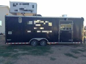 8 X 24 Pace American Mobile Kitchen Unit Food Concession Trailer For Sale In