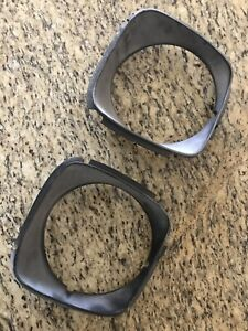 1977 78 Amc Gremlin Concord Amx Headlight Trim Bezels Pair Rare