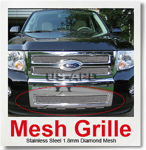 For 08 11 2011 Ford Escape Bumper Stainless Mesh Grille