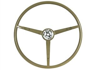 1965 1966 Ford Mustang Original Style Steering Wheel Ivy Gold St3034ivygold