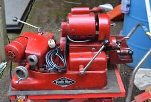 Vintage Kwik way Valve Grinder Refacer Sv 3118 Working Condition