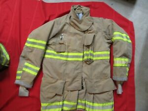 Mfg 2011 Globe Gxtreme 40 2 X 35 Firefighter Turnout Bunker Jacket Fire Rescue