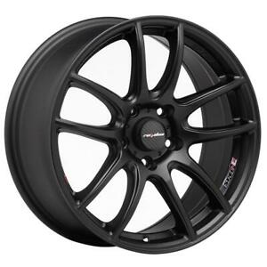Lenso Wheel Alloy Rim For Honda 17x75 5x114 3 45 Matte Black Cb73 1 114 28 5