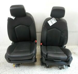 11 Cadillac Srx Front Driver Left Passenger Right Seat Pair Oem W O Mounted Dvd