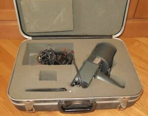 Decatur Ra gun Vintage 1981 Police X band Handheld Radar Gun Case