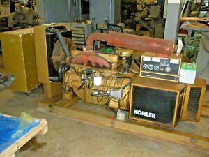 45 Kw Generator Kohler Set Model 45rz82