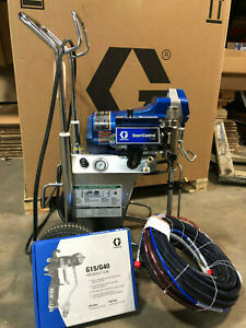 Graco Finishpro Ii 395 Pc Air assisted Airless Sprayer 17c417 New Gun