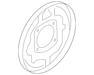 Genuine Ford Backing Plate 8l8z 2212 B