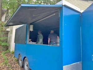 2005 7 X 16 Food Concession Trailer Mobile Food Unit In Great Condition For