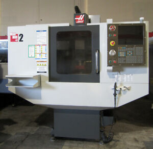 2011 Haas Mini Mill 2 Cnc 20 x16 Vertical Milling Machine Low Hours